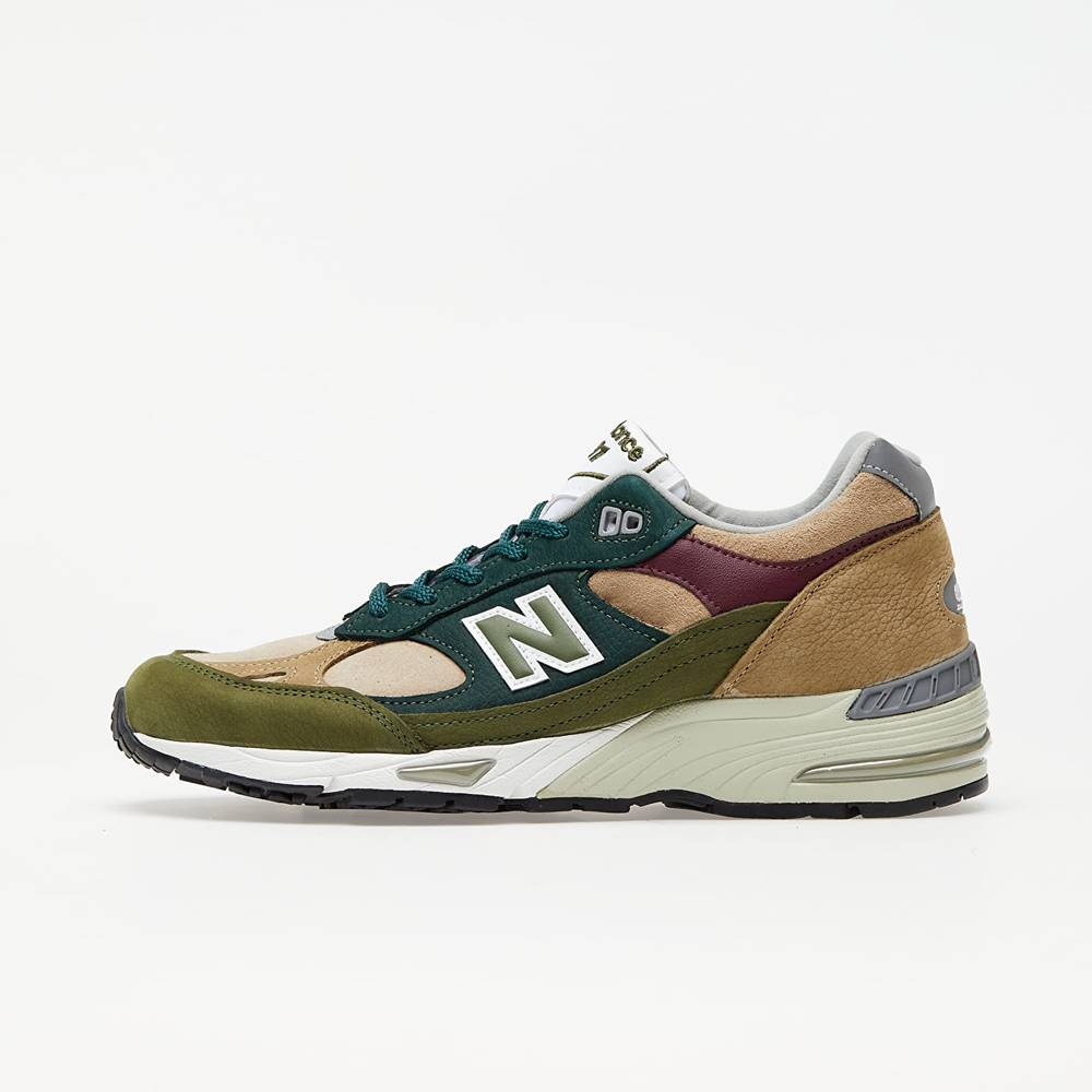 New Balance 991 Green/ Brown