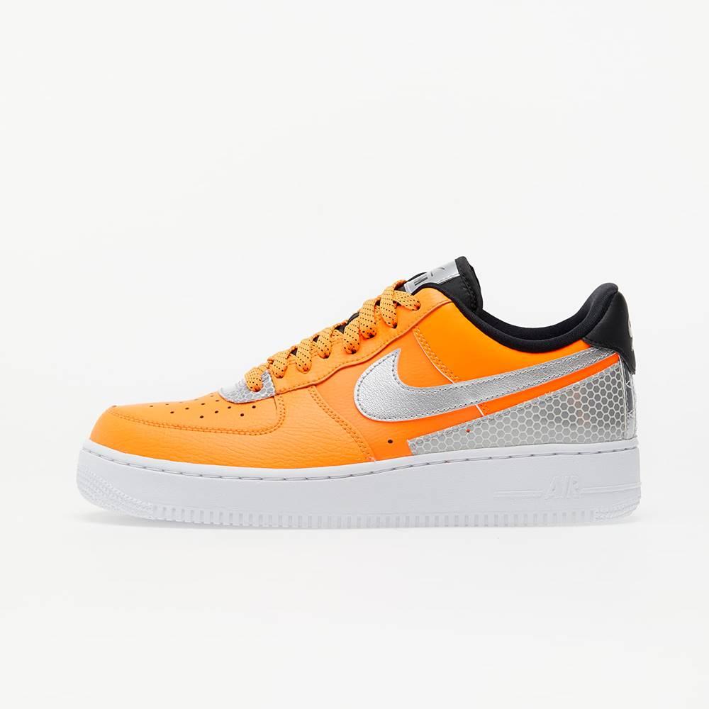 Nike Air Force 1 '07 LV8 3M Total Orange/ Metallic Silver