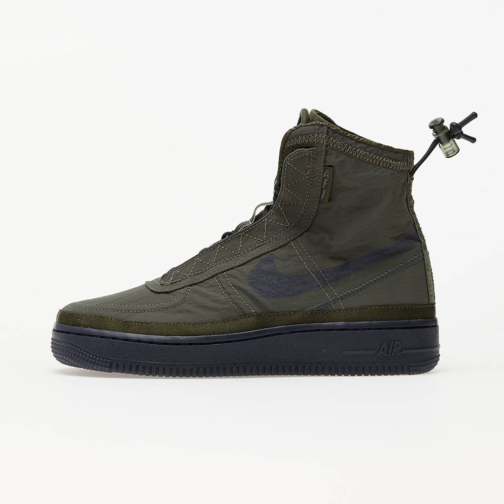 Nike W Air Force 1 Shell Cargo Khaki/ Off Noir