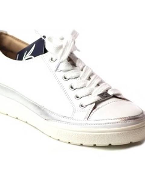 Biele tenisky Caprice