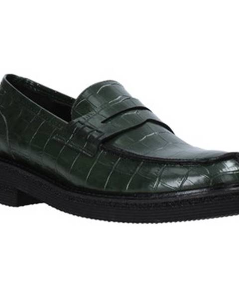 Zelené mokasíny Grace Shoes