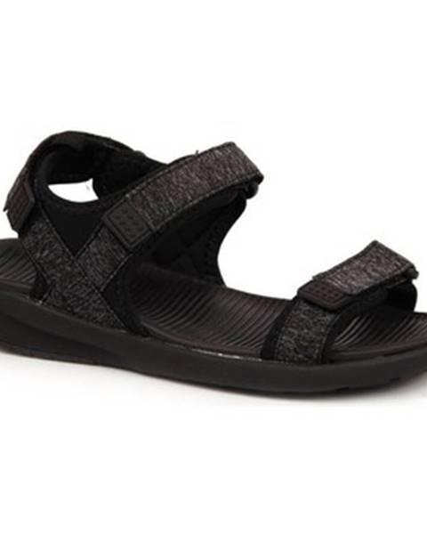Čierne sandále American Club