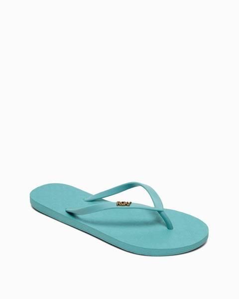 Modré papuče Roxy