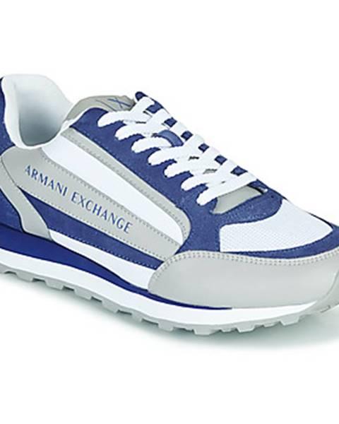 Biele tenisky Armani Exchange