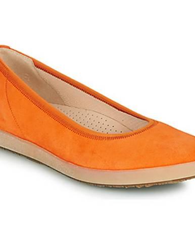 Oranžové balerínky Gabor