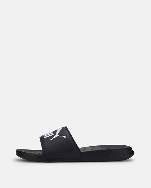 Čierne papuče Puma