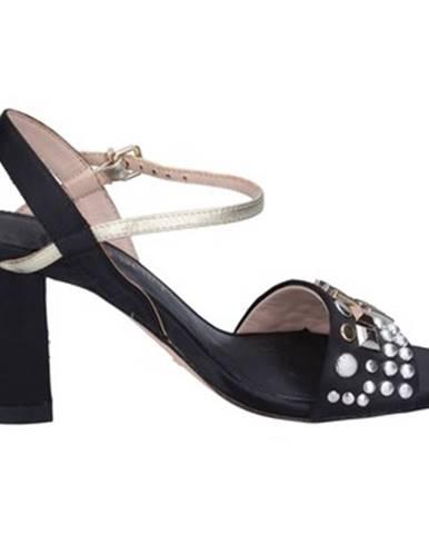 Čierne sandále The Seller
