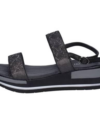 Čierne sandále Pazolini