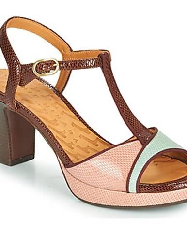 Hnedé sandále Chie Mihara