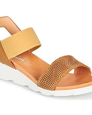 Hnedé sandále Felmini