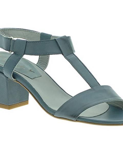 Modré sandále Mally