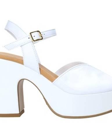 Biele lodičky Grace Shoes