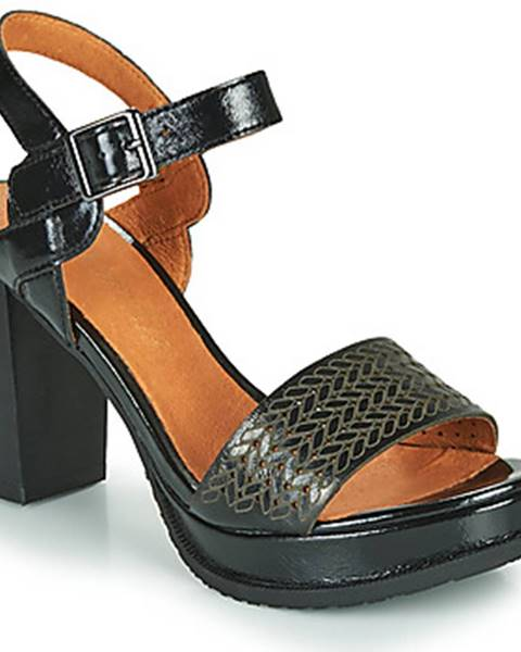 Čierne sandále Mam'Zelle