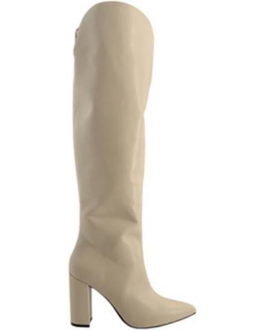 Biele čižmy Grace Shoes