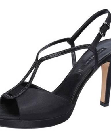 Čierne sandále Bacta De Toi