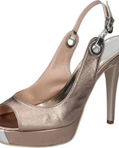 Červené sandále Sergio Cimadamore