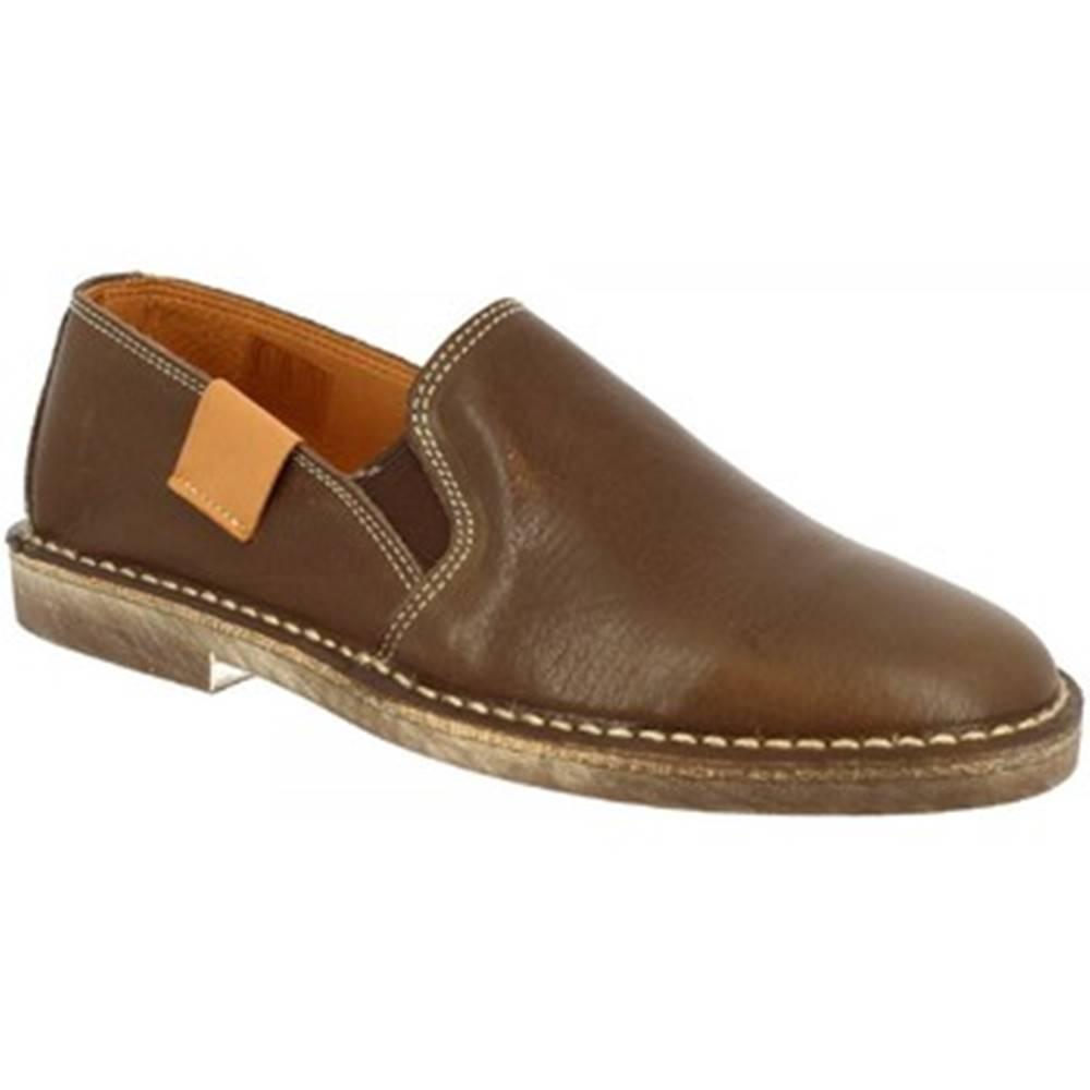 Leonardo Shoes Slip-on Leonardo Shoes  1000 NAPPA MARRONE DONNA
