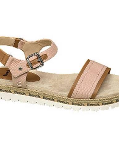 Ružové sandále Bench