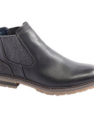 Čierna zimná obuv Venice