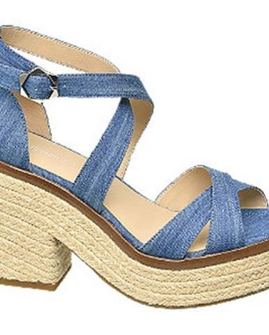 Modré sandále Graceland