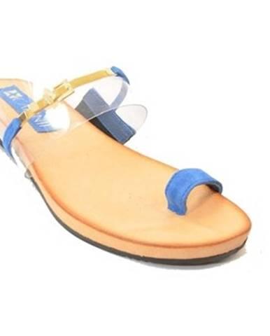Modré topánky Carinii