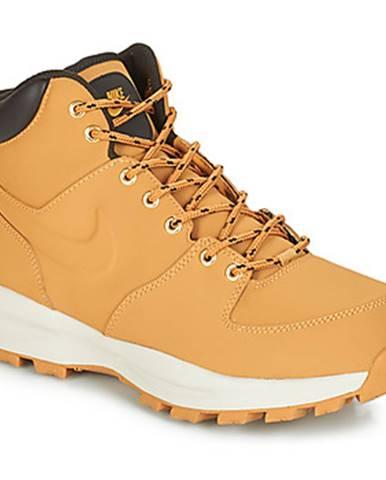 Hnedé polokozačky Nike