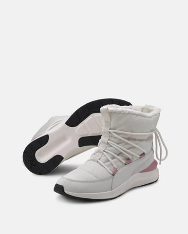 Krémová zimná obuv Puma