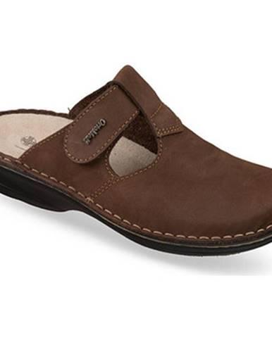 Hnedé topánky Mjartan