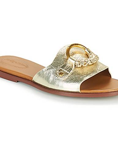 Zlaté topánky See by Chloé