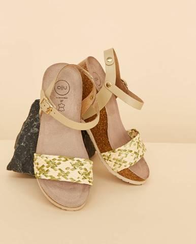 Zelené topánky OJJU