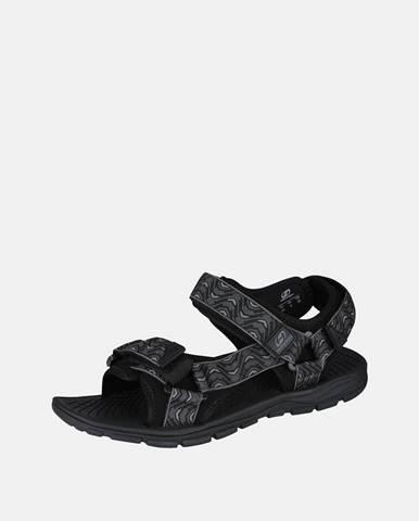 Tmavosivé sandále hannah