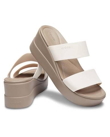 Biele papuče Crocs