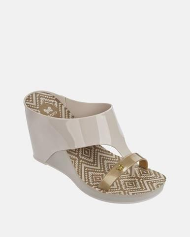 Béžové papuče Zaxy