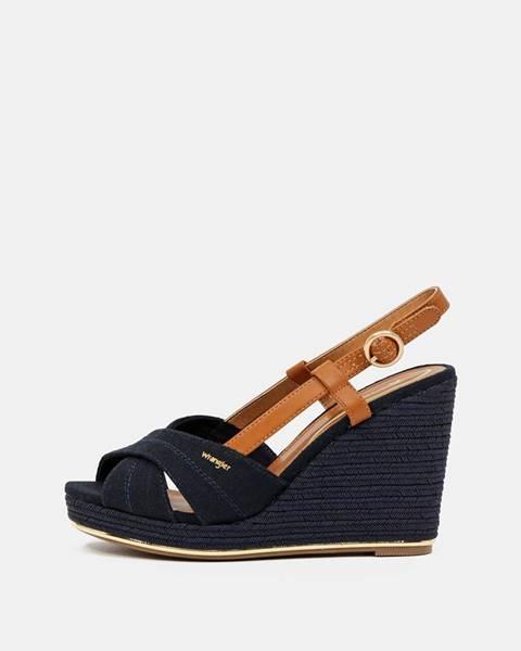 Tmavomodré topánky Wrangler