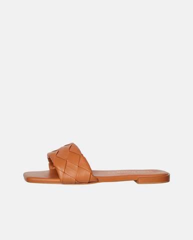 Hnedé papuče Vero Moda