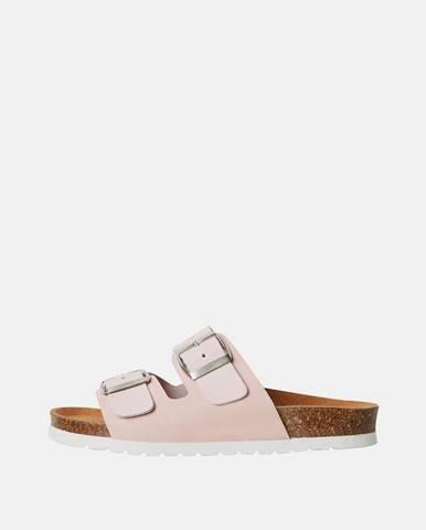 Svetloružové papuče Vero Moda
