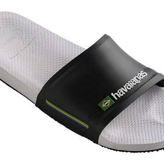 Tenisky  Slide Brasil White/Black