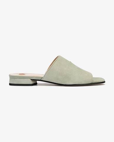 Sivé papuče Högl
