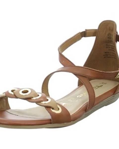 Hnedé sandále Tamaris