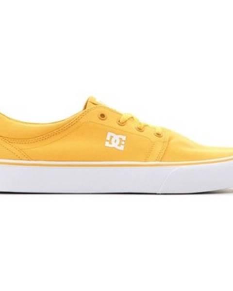Žlté topánky DC Shoes