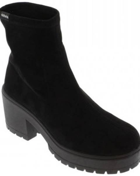 Čierne topánky Victoria
