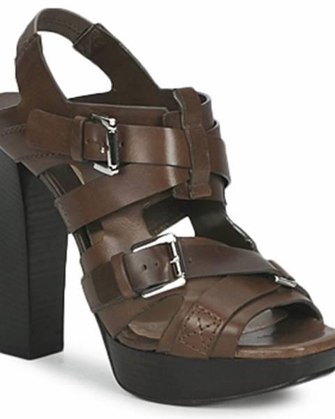 Hnedé topánky Michael Kors