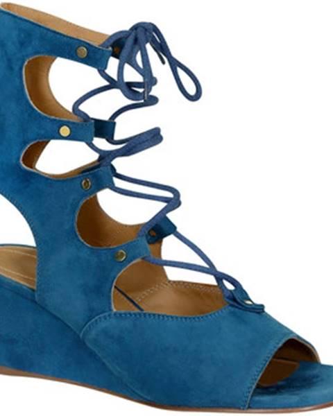 Modré topánky Chlo