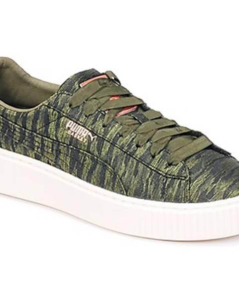 Zelené tenisky Puma