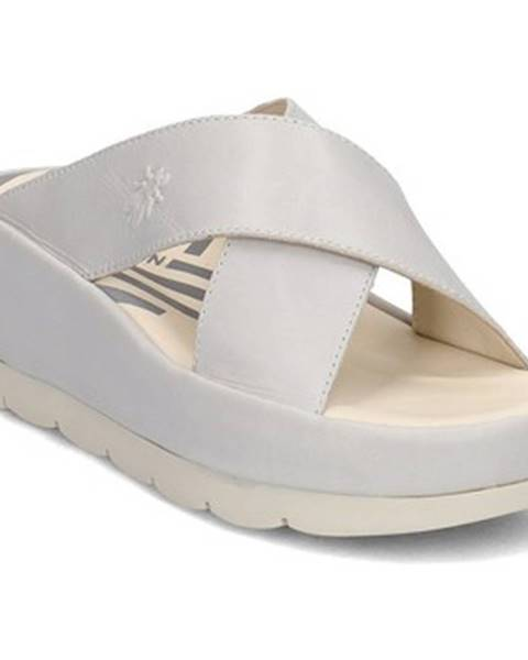 Biele topánky Fly London
