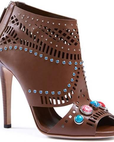 Hnedé topánky Gucci