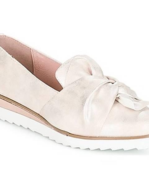 Strieborné topánky André