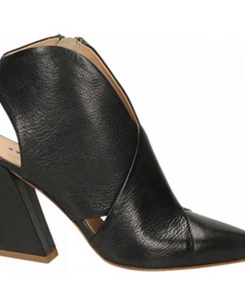 Čierne topánky Ettore Lami