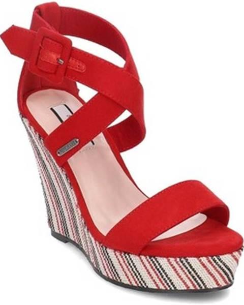 Červené topánky Pepe jeans