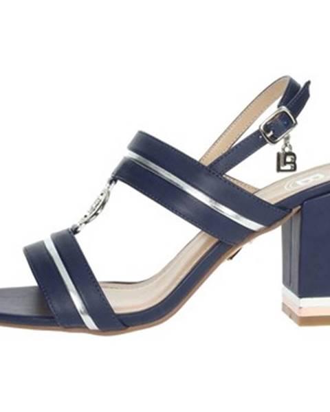 Modré topánky Laura Biagiotti